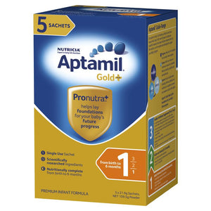 Aptamil Gold Pronutra Infant Sachet 5x21g