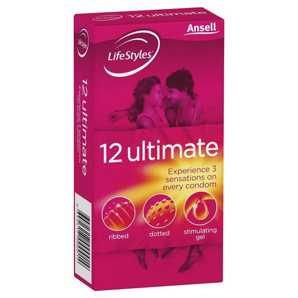 LifeStyles Ultimate Condoms 12 Pack
