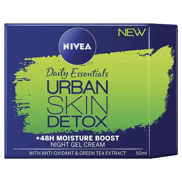 Nivea Visage Daily Essentials Urban Detox Night Cream 50ml