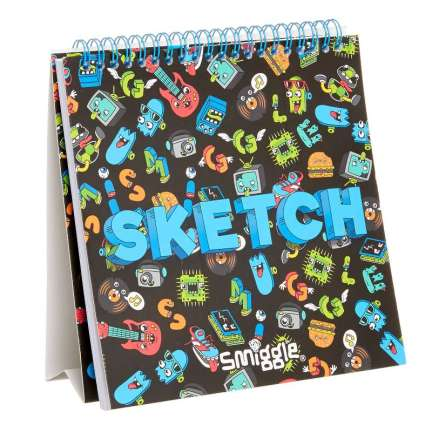 Colour Stand Up Sketch Book = BLACK