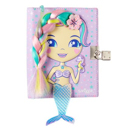 Wishes Dolly Small Lockable Notebook = LILAC