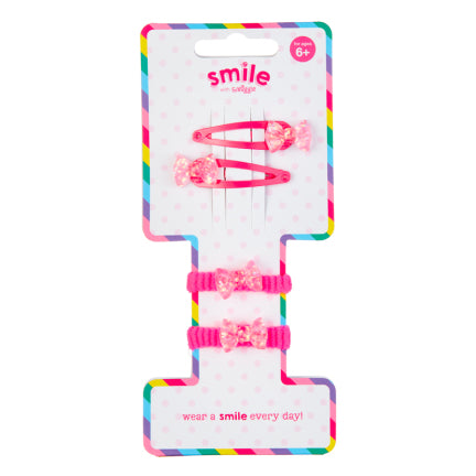 Smile Bows Multi Hair Pack = MIX