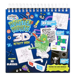 3D Monster Scratch Book = MIX