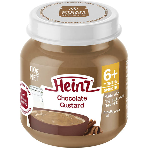 Heinz Chocolate Custard Jar 110g