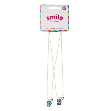 Smile Leo Bff Necklace Pack X2 = MIX