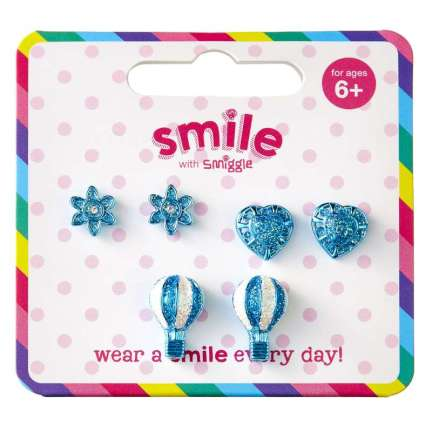 Smile Sky High Earring Pack X3 = MIX
