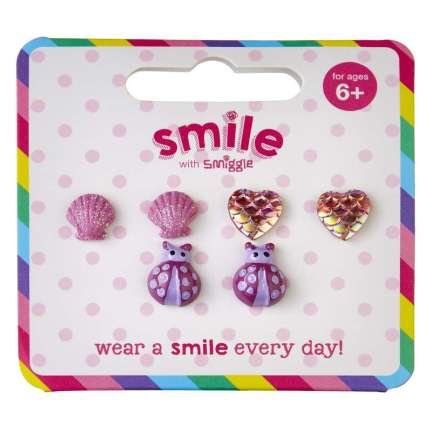 Smile Mythical Earring Pack X 3 = MIX