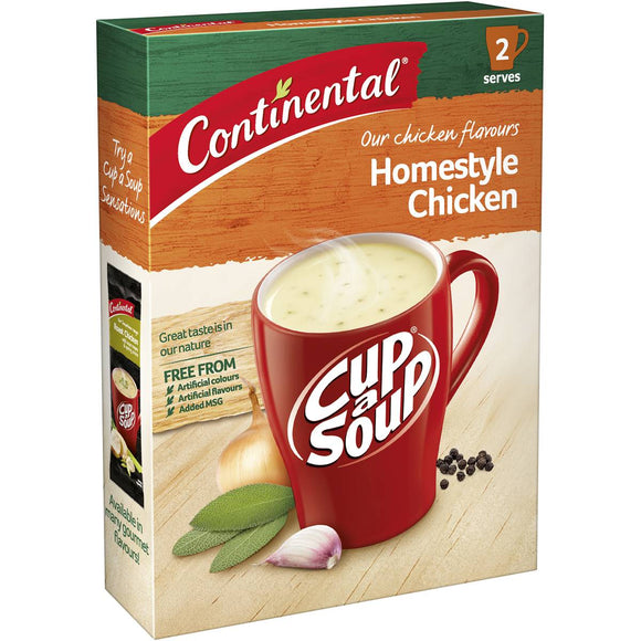 Continental Cup A Soup Homestyle Chicken Soup 46g