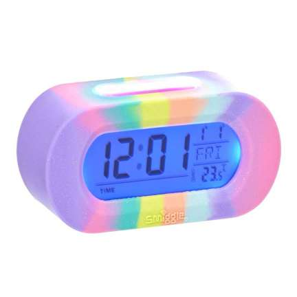 Silicone Rainbow Talking Clock = MIX