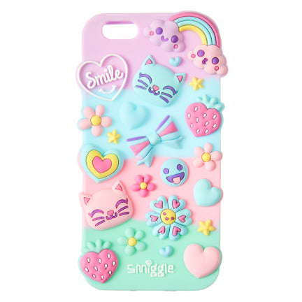 Stylin Silicone Phone Case - Iphone 6 = LILAC