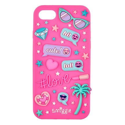 Stylin Silicone Phone Case - Iphone 8 & 7 = PINK
