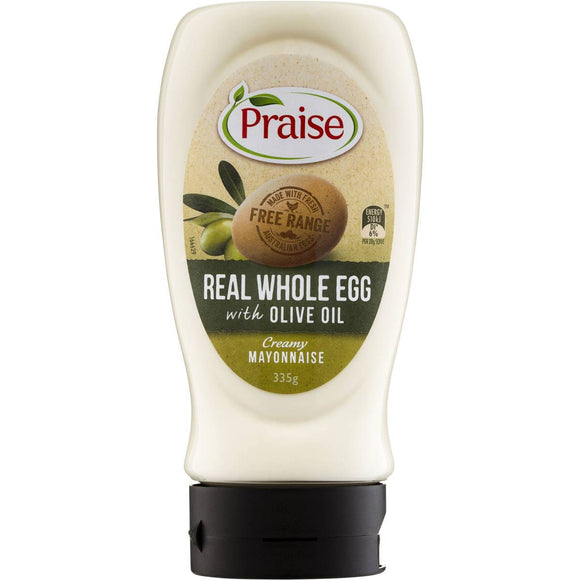 Praise Whole Egg Mayonnaise With Olive Oil 335g