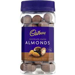 Cadbury Chocolate Coated Almonds 310g