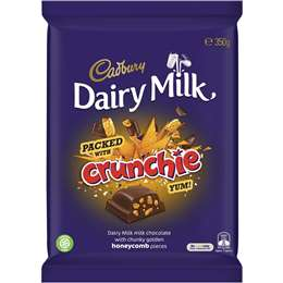 Cadbury Dairy Milk Packed With Crunchie 350g