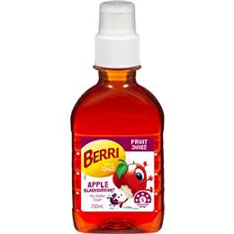 Berri Pop Tops Apple Blackcurrant Juice 250ml