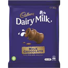 Cadbury Dairy Milk Chocolate Fair Trade 350g block