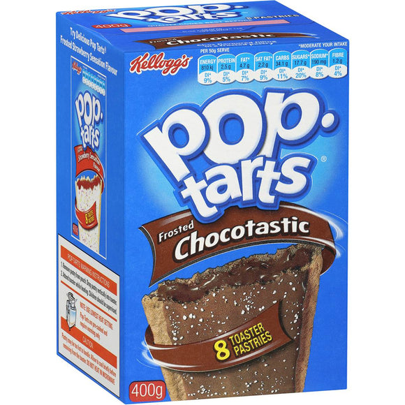 Kellogg's Pop Tarts Frosted Chocolate 400g