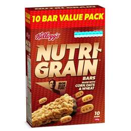 Kellogg's Nutri-grain Bar Original 10 pack