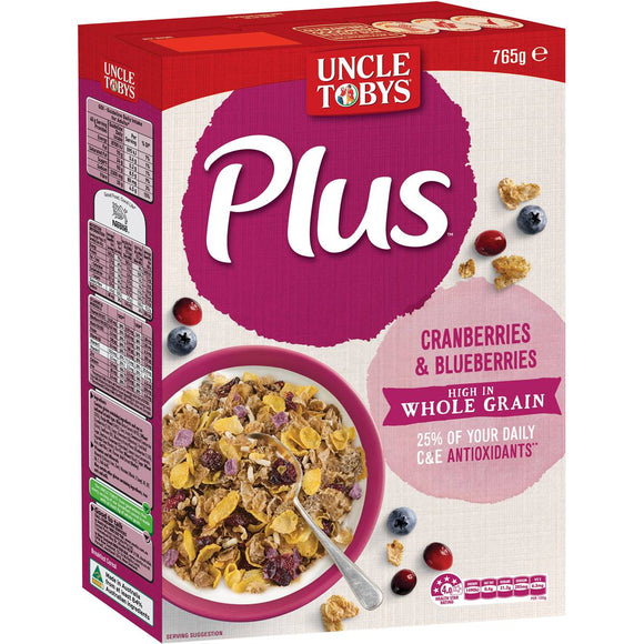 Uncle Tobys Plus Antioxidant 765g