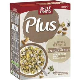 Uncle Tobys Plus Calcium 690g