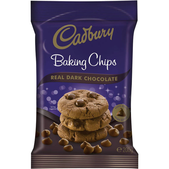 Cadbury Baking Dark Chocolate Chips 200g