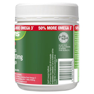Cenovis Odourless Fish Oil 1500mg 200 Capsules