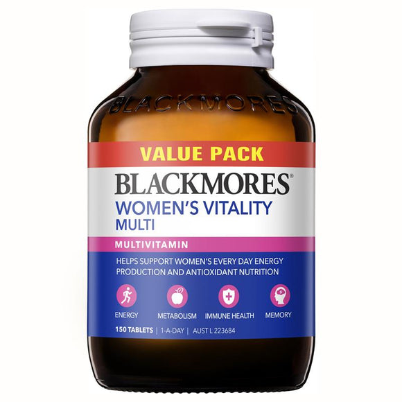 Blackmores Women's Vitality Multi Bulk Pack 150