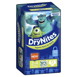 Huggies DryNites Boy 2-4 Years 11 Pack
