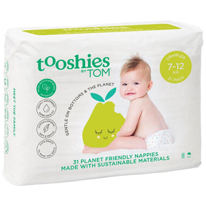 Tooshies by TOM Nappies Crawler 31 Pack