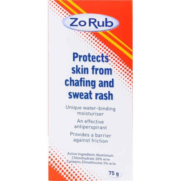 Zo Rub Anti Chafing Cream 75g