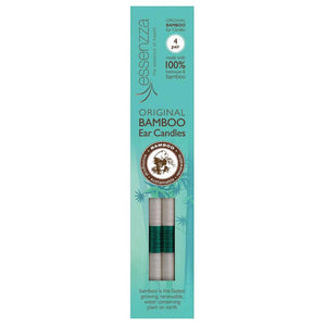 Essenzza Original Bamboo Ear Candles 4 Pair