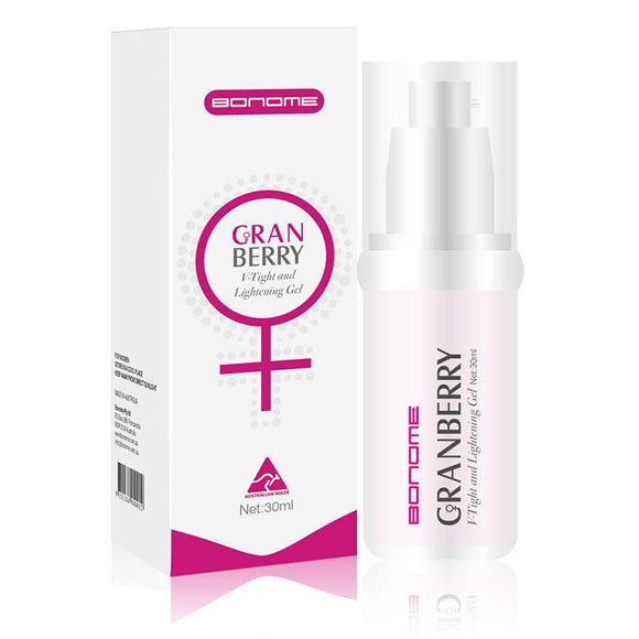 Online Only - Bonome Cranberry V-Tight & Lighetning Gel 30ml