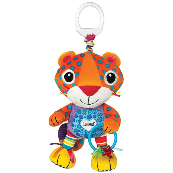 Lamaze Play & Grow Plush Puuring Percival Leopard