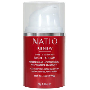 Natio Renew Night Cream 50g Online Only
