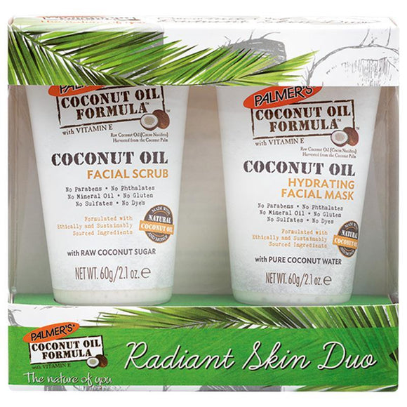 Palmers Coconut Oil Formula Radiant Skin Duo Gift Set