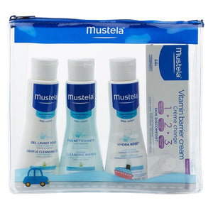 Mustela 4 Piece Travel Set