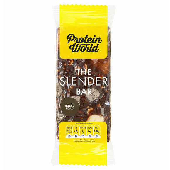 Protein World Slender Bar Rocky Road 60g