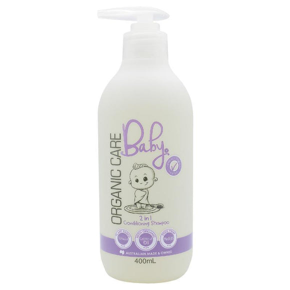 Organic Care Baby 2in1 Conditioning Shampoo 400ml