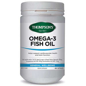 Thompson's Omega 3 Fish Oil 400 Capsules