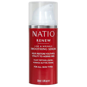 Natio Renew Smoothing Serum 30ml Online Only