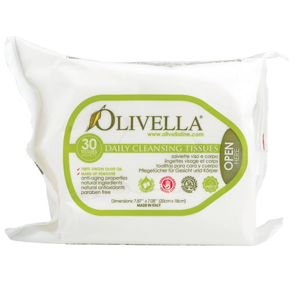 Olivella Daily Cleansing 30 Wipes