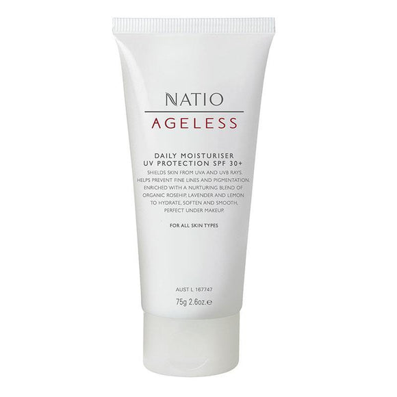 Natio Ageless Daily Moisture Protect SPF30 75g
