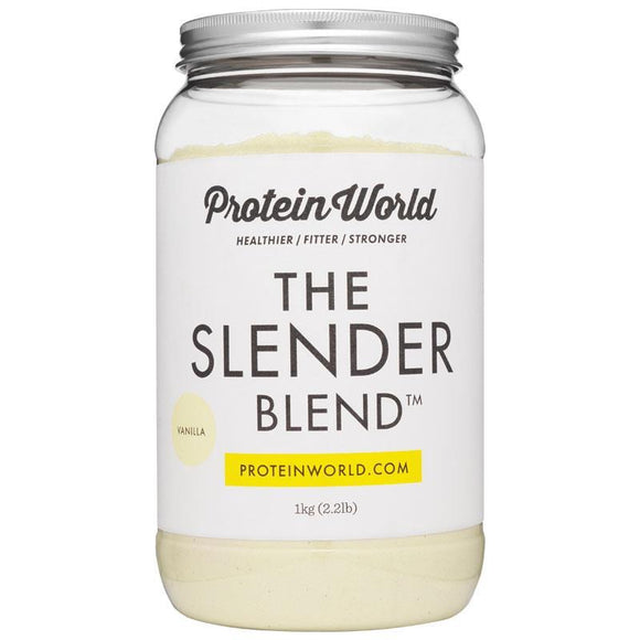Protein World The Slender Blend Vanilla 1kg