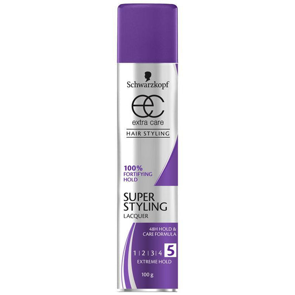 Schwarzkopf Extra Care Styling Lacquer Super 100g