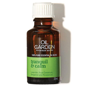 Oil Garden Tranquil & Calm Blend 25ml
