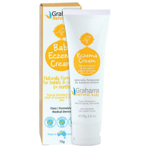 Grahams Natural Baby Eczema Cream 75g
