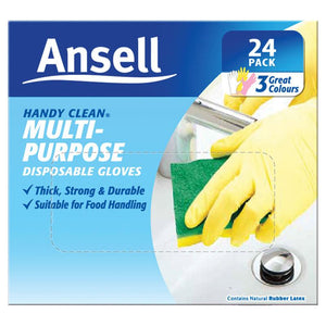 Ansell Glove Handy Disposable 24