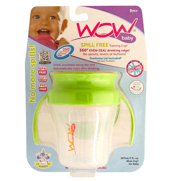 WOW Baby 360 Degree Drinking Cup with Handles