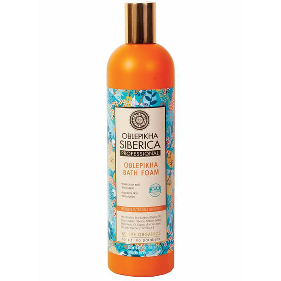 Natura Siberica Oblepikha Intensive Nutrition and Hydration Bath Foam 550ml