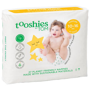 Tooshies by TOM Nappies Toddler 27 Pack